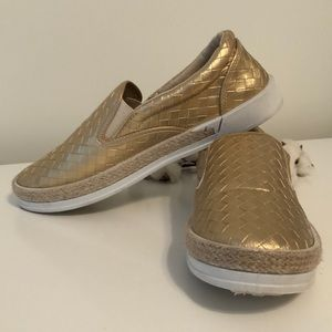 Gold Qupid Sneakers